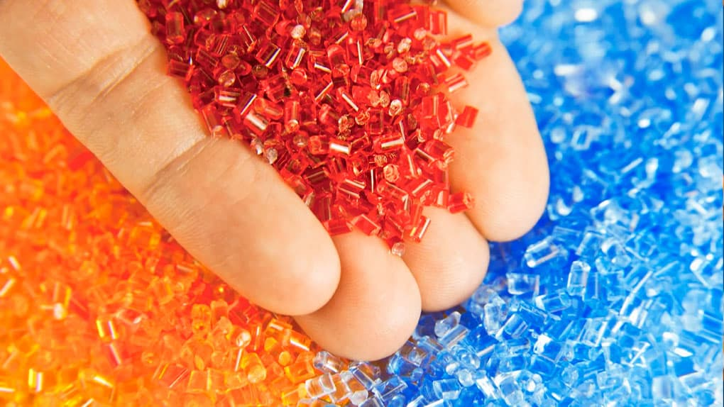 thermoplastic pellets used by our family owned injection molding business
